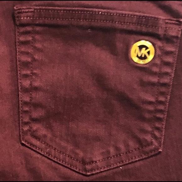 Michael Kors Pants - Michael Kors Burgundy Pants Size 8 Skinny